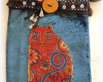 Handmade Cat Boho Bag