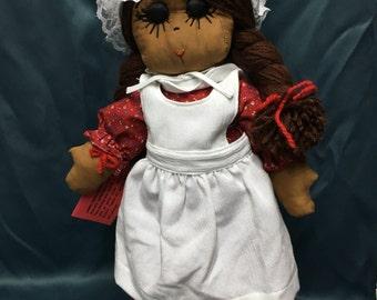 "21"" Soft Sculptured Girl Doll"