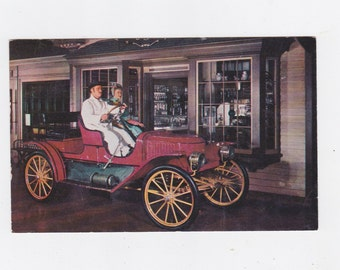 1955 the Henry Ford museum automotive display  post card