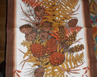 Pine cones by Ulster Irish linen