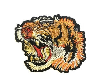 Tiger Iron on patch/ Iron on patch