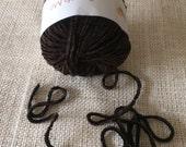 New Muench Touch Me Yarn 3619 Dark Brown 2 Skeins Destashing