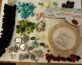 Destash beads, unused supplies, bead lot, bead sale, jewelry making supplies, beads, lots of beads, unused beads, mixed beads, destash