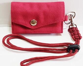 Accordion Flap Slim Wallet, Handy Wallet, keychain, wallet, Business card holder, Travel wallet, minimalist wallet, Chain Wallet