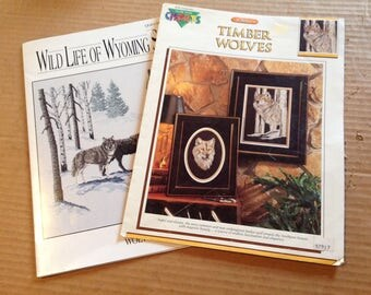 Wolf counted cross stitch patterns