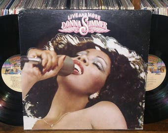 Donna Summer Live And More Vintage Vinyl Double Album