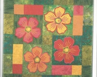 Sale!  Flamboyant wall hanging pattern (SBI1403) - Sew Be It