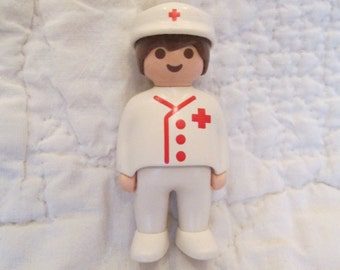 Vintage Play mobile Figure Medic
