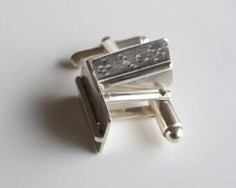 Sterling Cuff Links: Handsome, Handcrafted Accessories for Men or Women