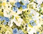 2 King Pillowcases Blue Flowers Cannon Royal Family
