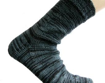 Socks grey/black, size EU 43-44/UK 10-10.5/US 12-12.5