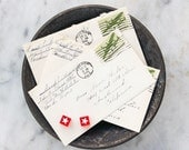 70 Love Letters / Original 1940's Handwritten Correspondence / WWII Era / US Air Force