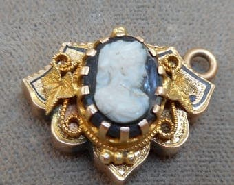 Victorian Cameo Necklace Finding