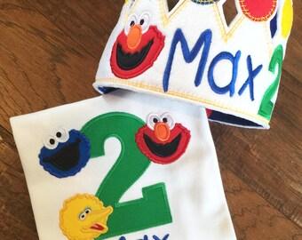 Sesame Street Birthday Set
