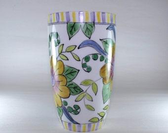 Tall Latte Mug, Handpainted, China Painted SKU171-3