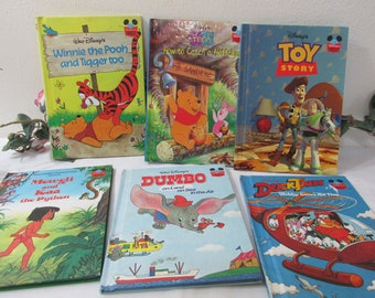 6 Children's Books Disney Classic like Toy Story, Dumbo, Winnie the Phoo