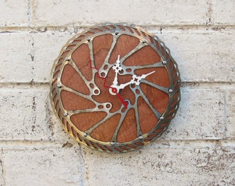 Recycled Avid Bicycle Disc Brake Wall Clock