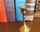 Vintage Small Brass Candlestick