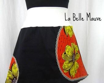 Yuki skirt flower yellow and orange