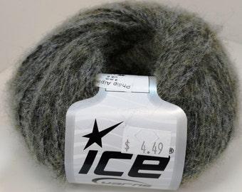 Ice, Acrylic, Alpaca, Wool, Viscose, DK, Gray