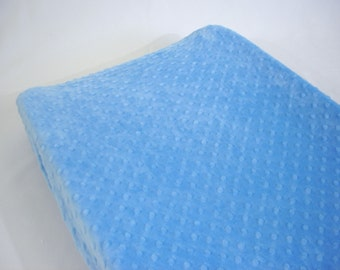 Changing Pad Cover Periwinkle Blue