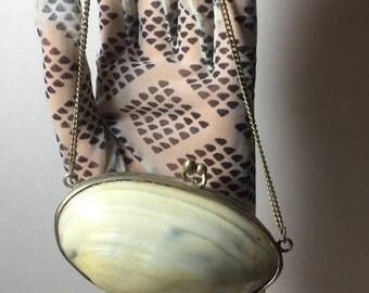 Vintage Seashell Coin Purse