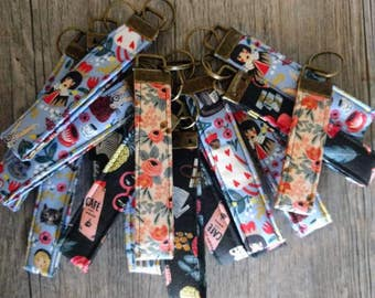 Rifle Paper Co. Quilted key fobs