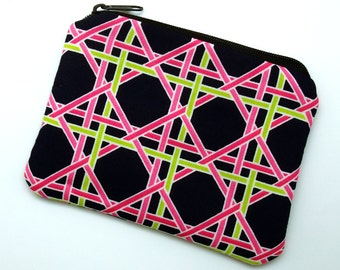 RS Zipper pouch / coin purse /card bag (padded) (ZS-197)
