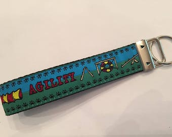 Keychain, Wristlet Style, Agility Lover
