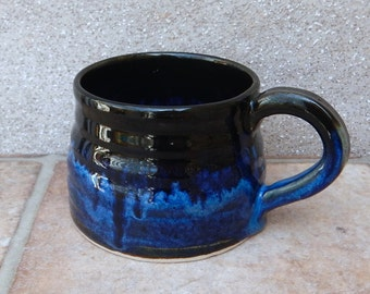 Coffee mug tea cup stoneware wheelthrown pottery handmade ceramic handthrown