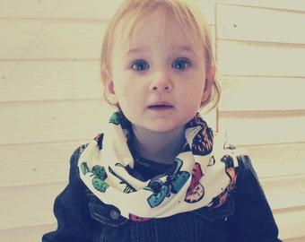 Toddler Snood Scarf Baby Infinity Wrap