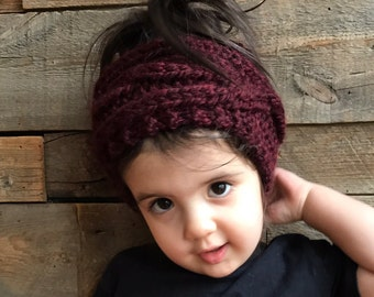 kids knitted headband   Etsy