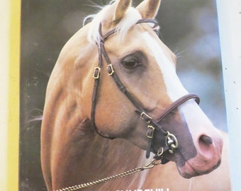 SALE Vintage HORSES Coffee Table Book by Peter Churchill