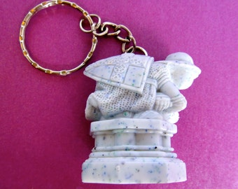 The White Pawn from Wizard's Chess Custom Keychain