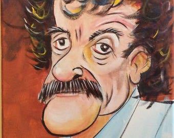 Kurt Vonnegut (2017) by Mark Redfield