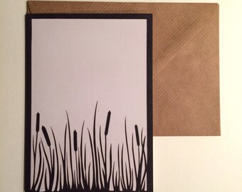 Rushes - Greeting card