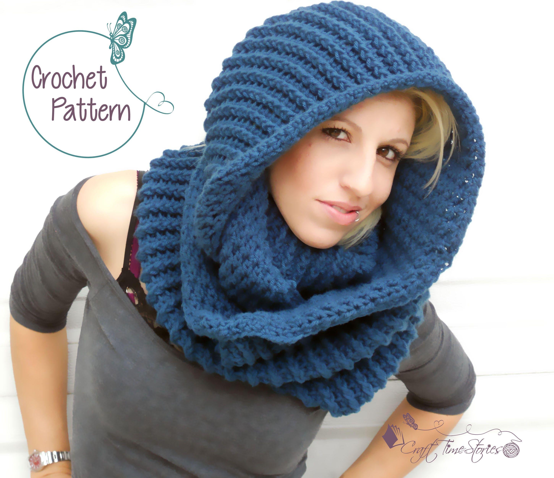 Crochet cowl pattern for women pdf crochet scarf pattern zoom bankloansurffo Images