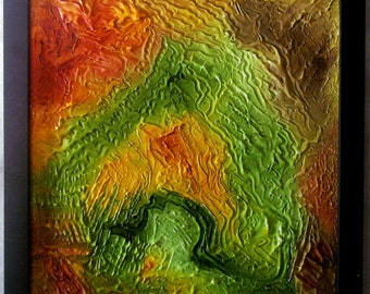 Dimensional Abstracts Aerial Landscape Southwest Colors DAAL003SW