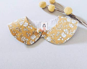 PETER PAN style Liberty Art Fabric Collar Peter pan Collar