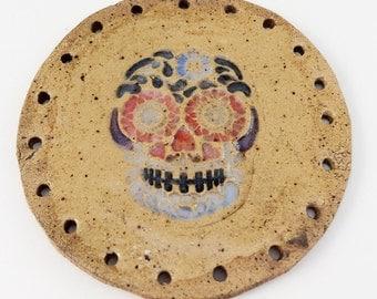 Day of the Dead Sugar Skull Basketry Start, Pine Needle Basket Center, Día de Muertos