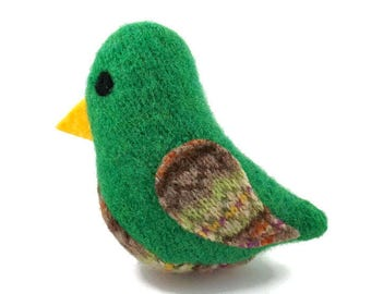 Birds of a Sweater Catnip Cat Toy - March Green - 25% to @Devoted_Feeders