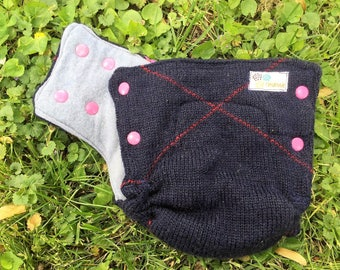 HALF PRICE SALEPure Wool Diaper Cover With Snaps
