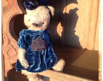 11 inch Artist Handmade Mohair Teddy Bear Josephina by Sasha Pokrass