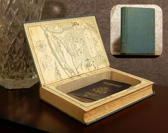 Hollow Book Safe - Vintage 1950 The Plymouth Adventure - Secret Book Safe