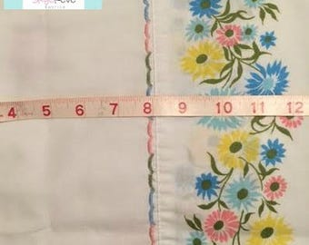 Vintage Border Floral Pillowcase