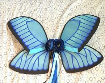 Blue Morpho Fairy Wings