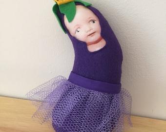Princess Parmigiana Eggplant Plush