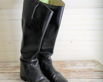 English riding boots | Etsy