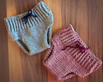 Knit Diaper Covers