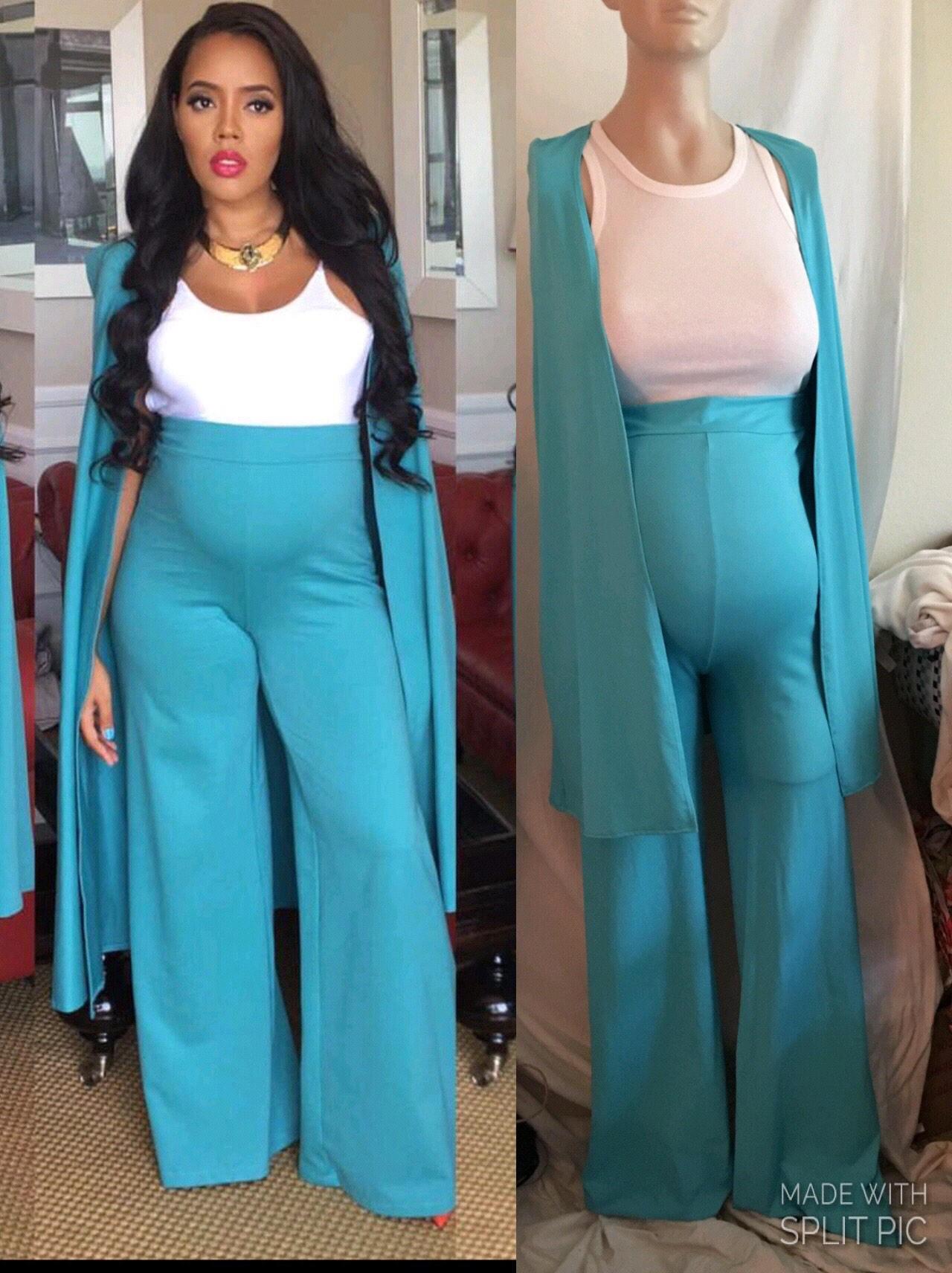Maternity pants suit maternity cape blazer maternity wear